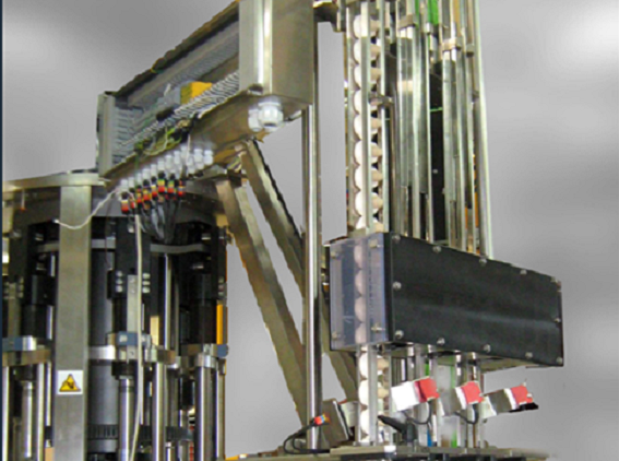 Chute sections automated positioning